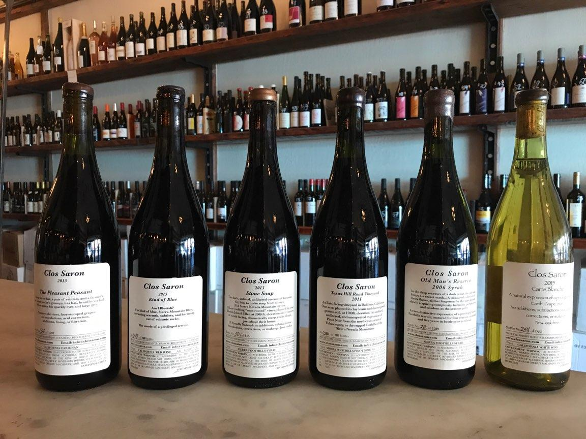 Saturday Tasting: CLOS SARON