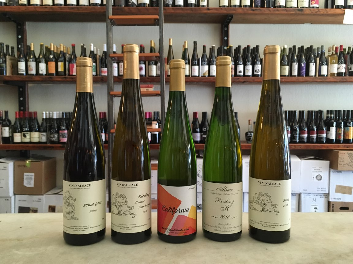 Saturday Tasting: Schueller + Ginglinger
