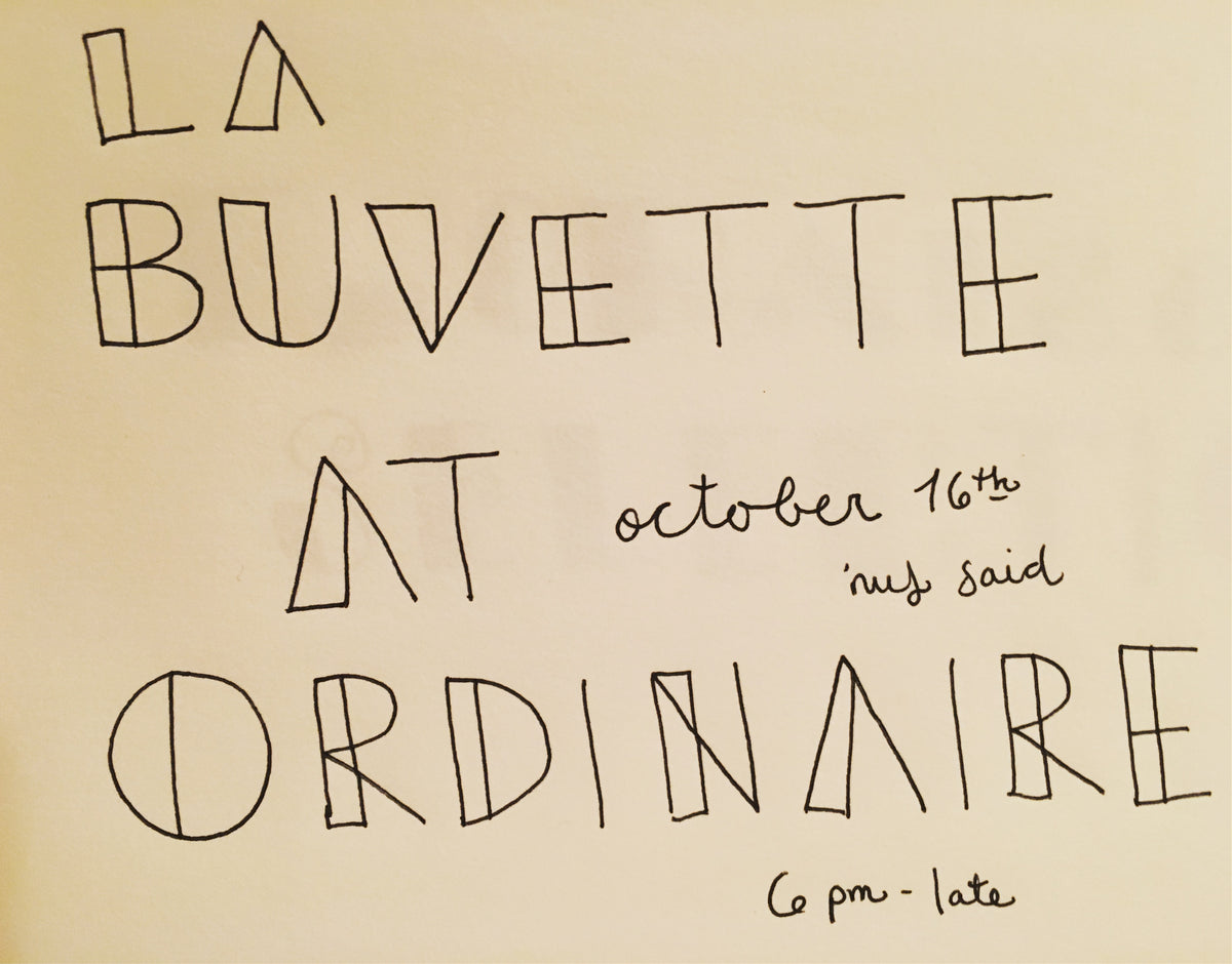 LA BUVETTE POP-UP