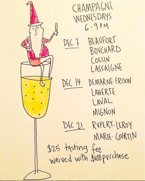 CHAMPAGNE WEDNESDAYS