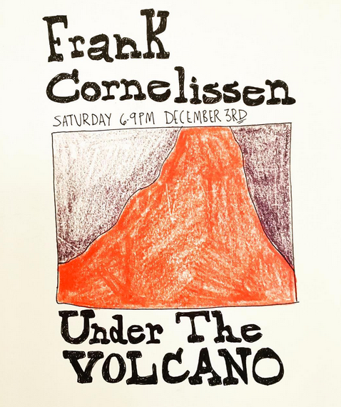 Frank Cornelissen: Saturday Dec 3, 6-10pm