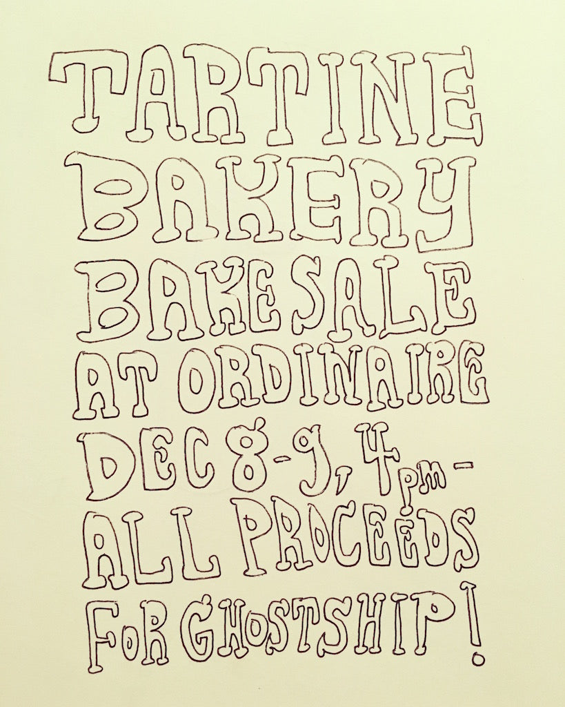 Tartine Bakery benefit for Ghost Ship Victims