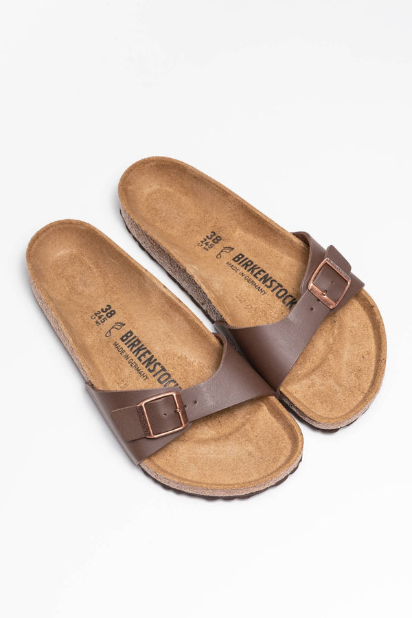 #00013  Birkenstock încălțăminte, papuci Madrid BF Dark Brown 40391 DARK BROWN