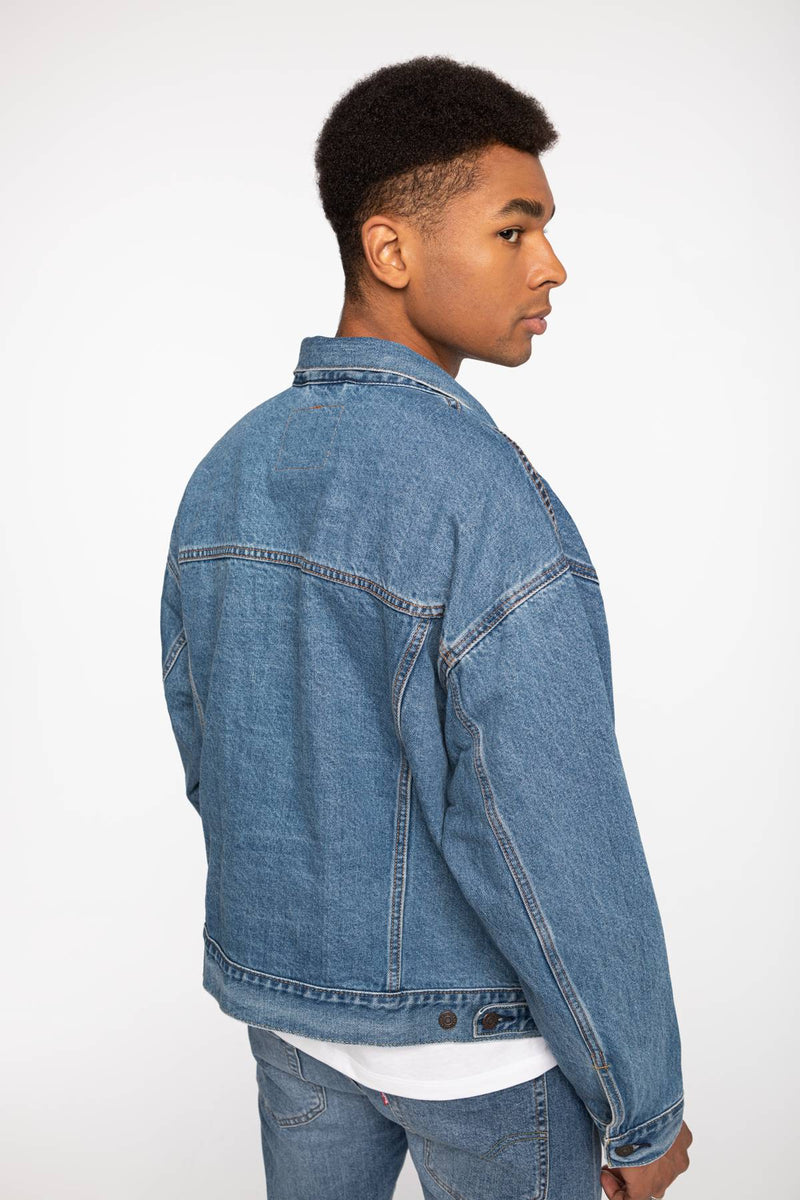 #00017  Levi's îmbrăcăminte, geacă Jacket Stay Loose Trucker 28789-0001 LIGHT BLUE