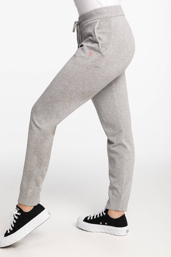 #00086  Guess îmbrăcăminte, pantaloni BASIC SWEATER PANT H905 Grey