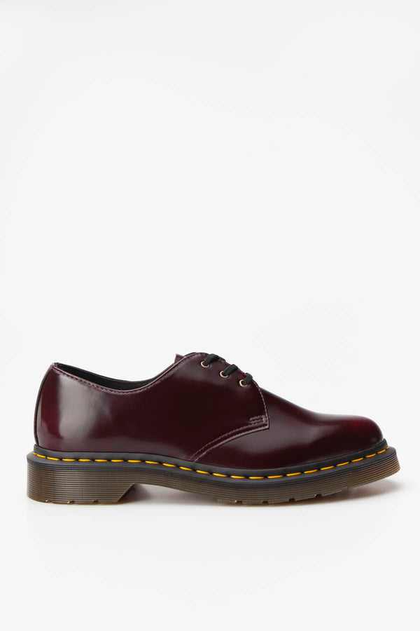 #00034  Dr.Martens încălțăminte VEGAN 1461 OXFORD BRUSH CHERRY RED
