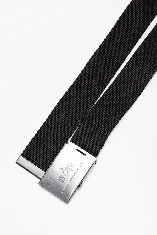 #00180  Alpha Industries accesorii, curea PASEK Heavy Duty Belt 4 cm 100906-03 BLACK