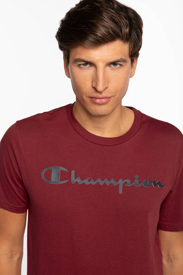 #00060  Champion tricou Crewneck T-Shirt 214747-RS502 RED
