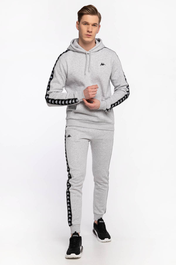 #00087  Kappa îmbrăcăminte, pantaloni SPODNIE DRESOWE IRENEUS Sweat Pants, Regular Fit 309010 15-4101M GREY