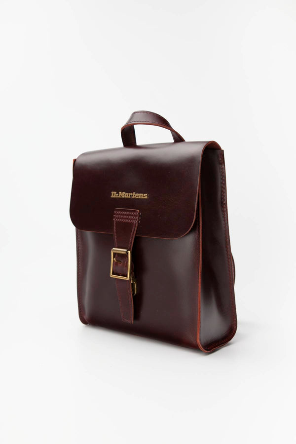 #00049  Dr.Martens genți și rucsacuri, rucsac MINI LEATHER BACKPACK 230 CHARRO BRANDO