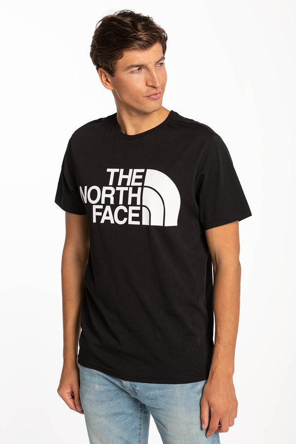 #00020  The North Face tricou M STANDARD SS TEE BLACK NF0A4M7XJK31 BLACK
