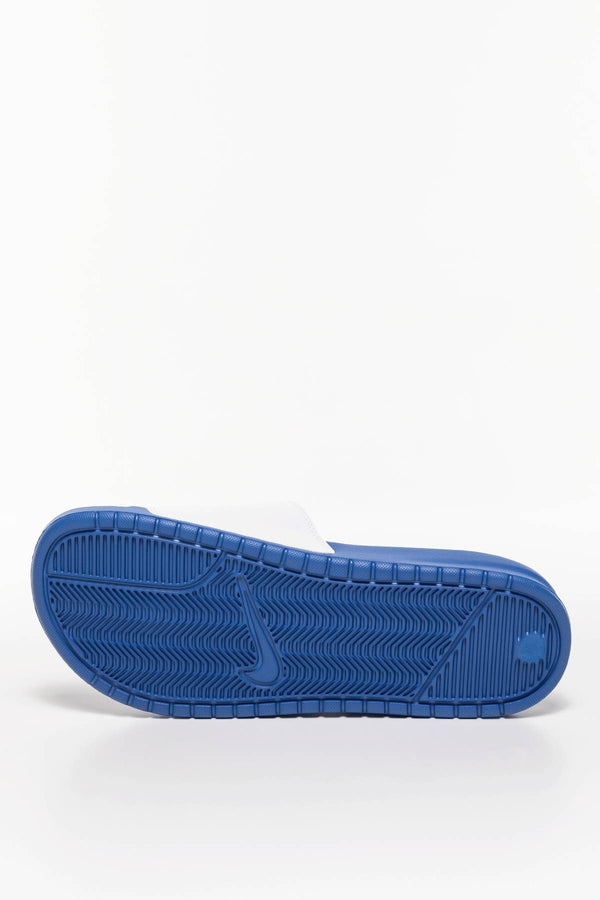 #00016  Nike încălțăminte, papuci BENASSI JDI 343880-410 GAME ROYAL/ UNIVERSITY RED