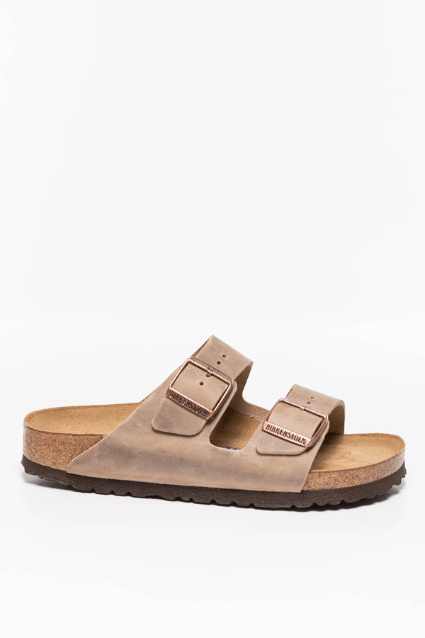 #00037  Birkenstock încălțăminte, papuci Arizona Soft Footbed 552813 TOBACCO BROWN