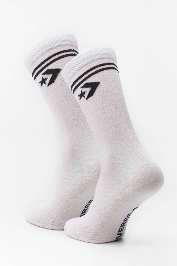 #00201  Converse șosete SOCKS 2-PACK 2010 WHITE/BLACK