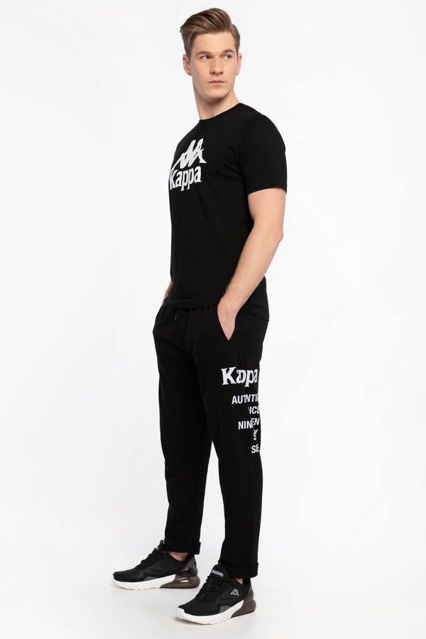#00071  Kappa îmbrăcăminte, pantaloni SPODNIE DRESOWE ILAY Sweat Pants, Regular Fit 309042 19-4006 BLACK