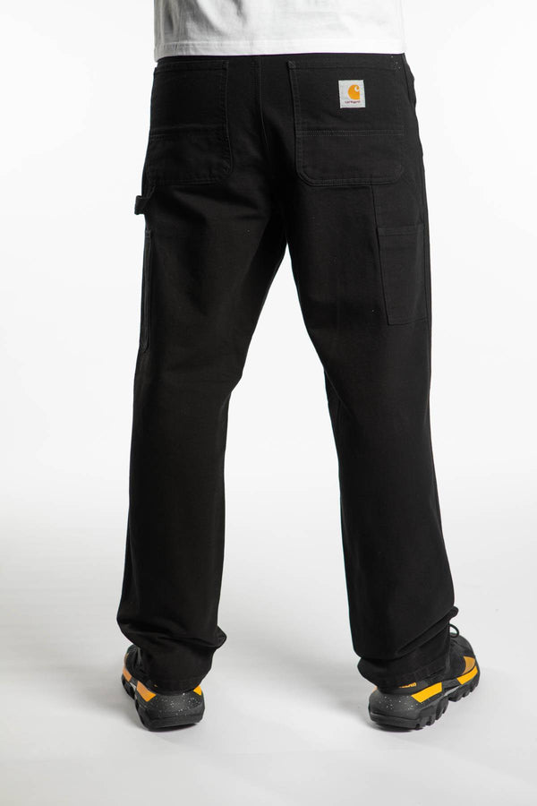 #00072  Carhartt WIP îmbrăcăminte, pantaloni SINGLE KNEE PANT 8902 BLACK