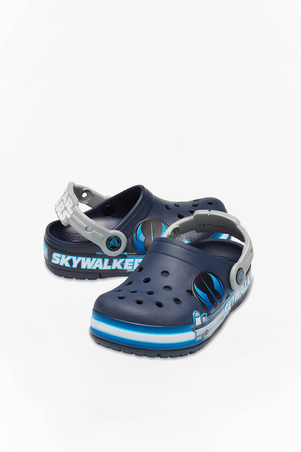 #00137  Crocs încălțăminte, papuci FUN LAB LIGHTS CLOG LUKE SKYWALKER KIDS 206280 NAVY