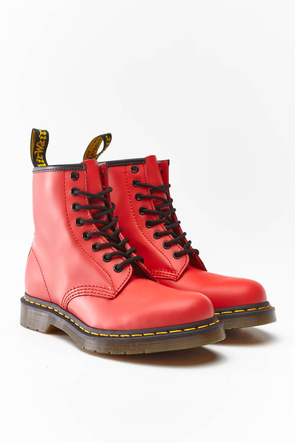 #00025  Dr.Martens încălțăminte, încălțăminte peste gleznă 1460 SMOOTH SUMMER ICONS SATCHEL RED