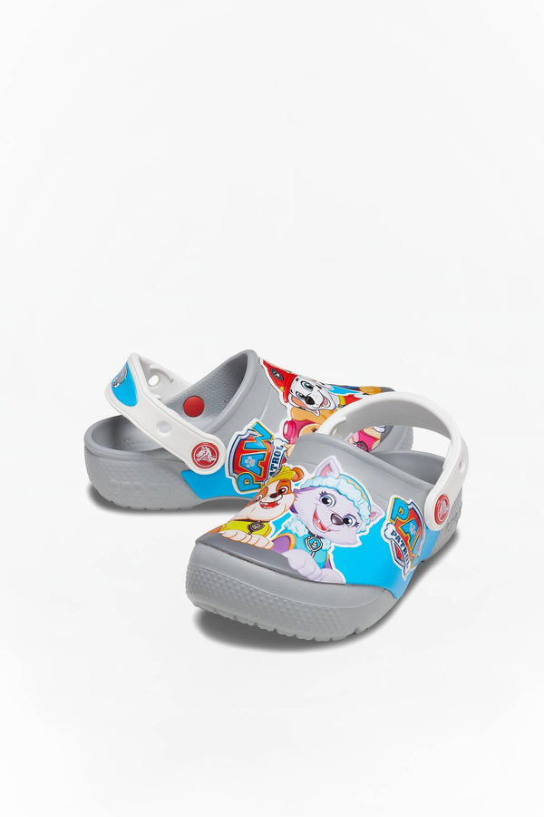 #00009  Crocs încălțăminte, papuci FUN LAB PAW PATROL CLOG KIDS 007 LIGHT GREY