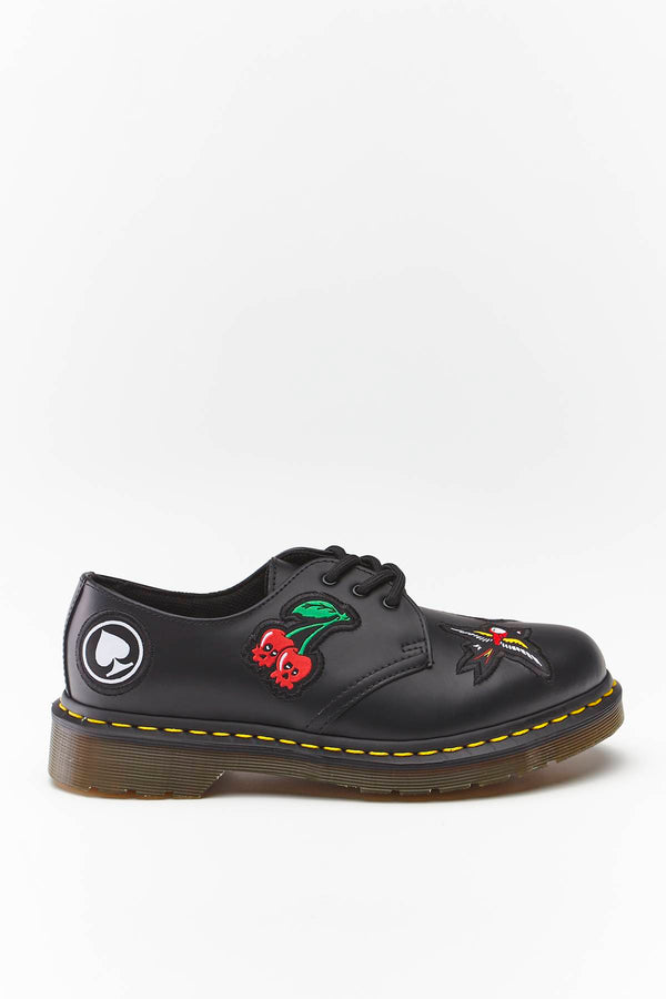 #00041  Dr.Martens încălțăminte 1461 SMOOTH BLACK