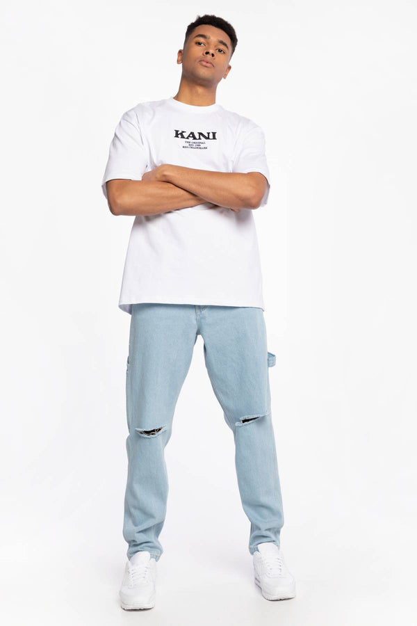 #00050  Karl Kani îmbrăcăminte, pantaloni SPODNIE JEANSOWE KK OG Rinse Denim Pants light blue 6000763 LIGHT BLUE