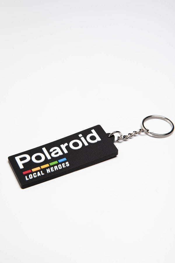 #00013  Local Heroes accesorii POLAROID RUBBER KEY CHAIN LHPLACC001 BLACK