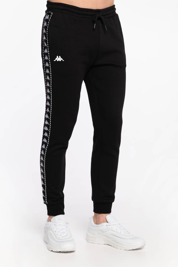 #00068  Kappa îmbrăcăminte, pantaloni SPODNIE DRESOWE IRENEUS Sweat Pants, Regular Fit 309010 19-4006 BLACK