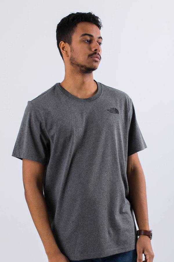 #00033  The North Face tricou RED BOX TEE JBV MEDIUM GREY/HEATHER