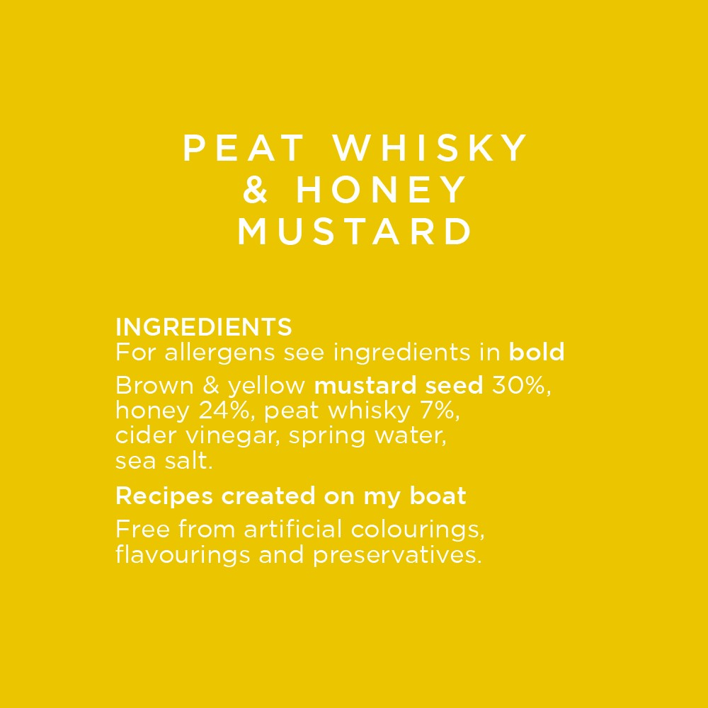 Peat Whisky and Honey Mustard
