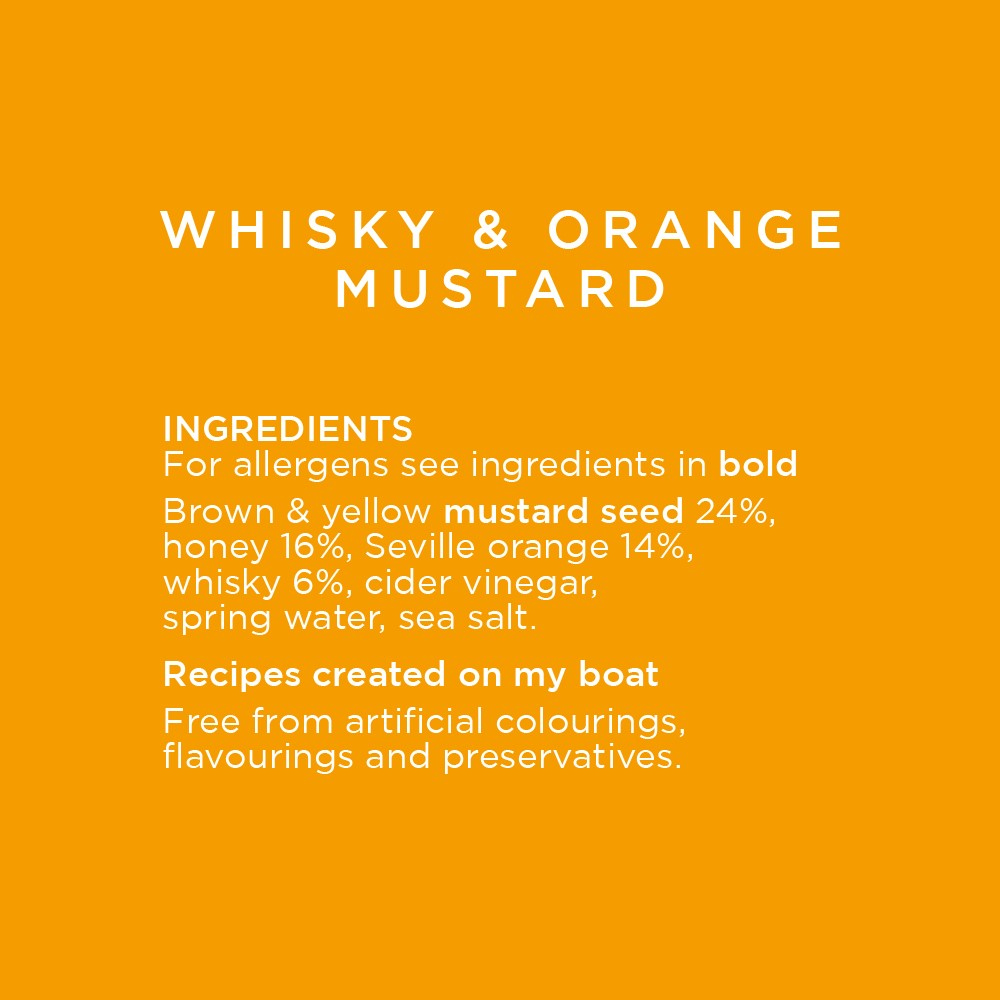 Whisky and Orange Mustard