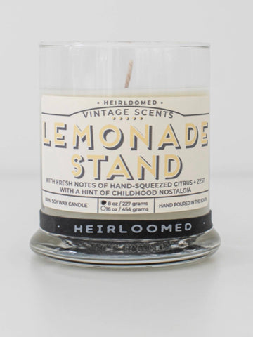 Lemonade Stand Candle