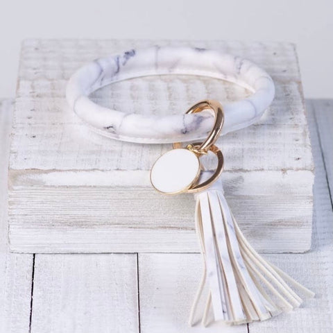 Halo Tassel Key Rings