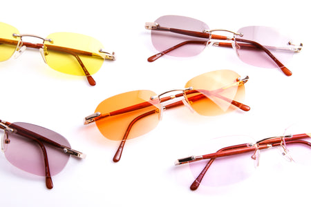 History: Vintage Christian Dior Sunglasses & Eyewear Original Advertisements