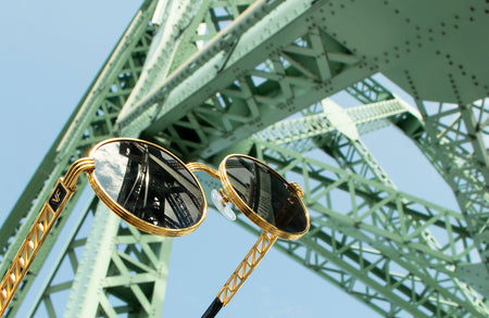 Creme De La Creme: Vintage Ultra Caviar M1404 Sunglasses Available At The Vintage Frames Shop