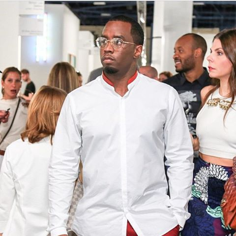 diddy art shopping in vintage cartier sunglasses - Cartier Frames For Men