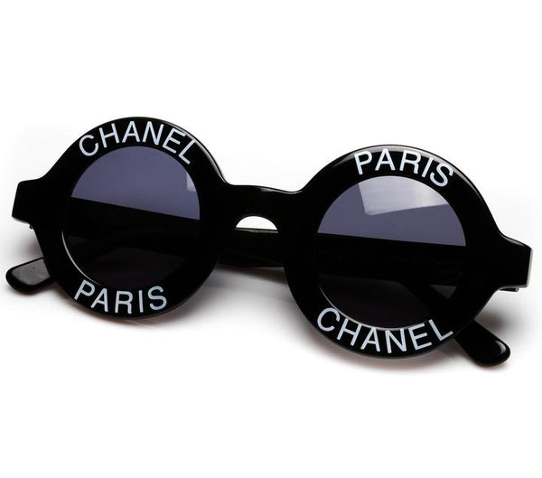 93d880ca64 The most notable of the collection is a pair of Chanel Vintage Frames. The  round Vintage Chanel Sunglasses are part of a runway archive available on  Vintage ...