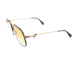 Hilton Exclusive 16 3 20KT Gold Plated (Honey Yellow) Side, Hilton, glasses frames, eyeglasses online, eyeglass frames, mens glasses, womens glasses, buy glasses online, designer eyeglasses, vintage sunglasses, retro sunglasses, vintage glasses, sunglass, eyeglass, glasses, lens, vintage frames company, vf