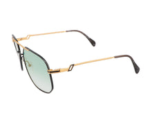 Hilton Exclusive 16 3 20KT Gold Plated (Teal Gradient) Side, Hilton, glasses frames, eyeglasses online, eyeglass frames, mens glasses, womens glasses, buy glasses online, designer eyeglasses, vintage sunglasses, retro sunglasses, vintage glasses, sunglass, eyeglass, glasses, lens, vintage frames company, vf