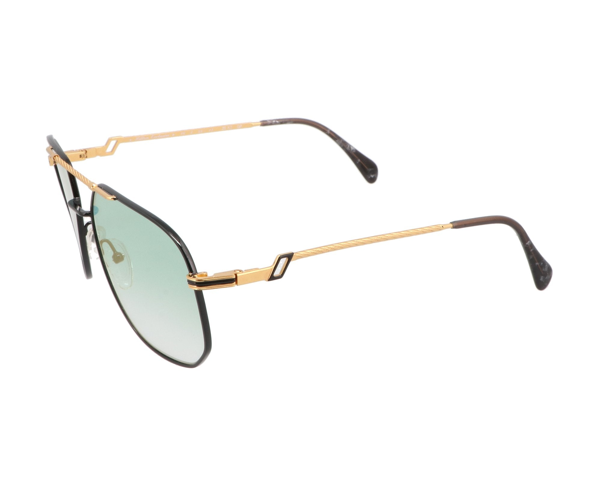 Hilton Exclusive14 1 Gold Vintage Sunglasses Aviator For Men and Women