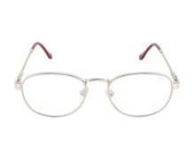 VF Detroit Player 2 18KT White Gold (Clear), VF by Vintage Frames, glasses frames, eyeglasses online, eyeglass frames, mens glasses, womens glasses, buy glasses online, designer eyeglasses, vintage sunglasses, retro sunglasses, vintage glasses, sunglass, eyeglass, glasses, lens, vintage frames company, vf