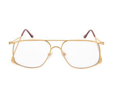VF The Butcher 24KT Gold (Blue Light Blocker), VF Masterpiece, glasses frames, eyeglasses online, eyeglass frames, mens glasses, womens glasses, buy glasses online, designer eyeglasses, vintage sunglasses, retro sunglasses, vintage glasses, sunglass, eyeglass, glasses, lens, vintage frames company, vf