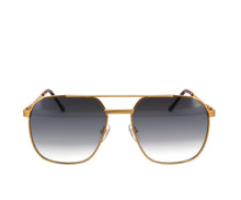 VF Narcos 18KT Gold (Matte Mirror Black Gradient), VF Masterpiece, glasses frames, eyeglasses online, eyeglass frames, mens glasses, womens glasses, buy glasses online, designer eyeglasses, vintage sunglasses, retro sunglasses, vintage glasses, sunglass, eyeglass, glasses, lens, vintage frames company, vf