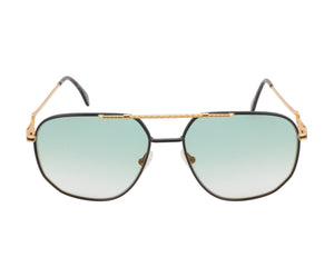 Hilton Exclusive 16 3 20KT Gold Plated (Teal Gradient) Front, Hilton, glasses frames, eyeglasses online, eyeglass frames, mens glasses, womens glasses, buy glasses online, designer eyeglasses, vintage sunglasses, retro sunglasses, vintage glasses, sunglass, eyeglass, glasses, lens, vintage frames company, vf