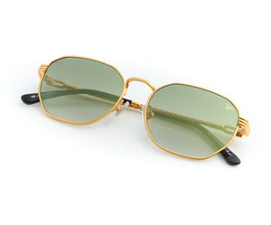 , VF Kids Detroit Player 18KT Gold (Moss Green), VF Kids, glasses frames, eyeglasses online, eyeglass frames, mens glasses, womens glasses, buy glasses online, designer eyeglasses, vintage sunglasses, retro sunglasses, vintage glasses, sunglass, eyeglass, glasses, lens, vintage frames company, vf