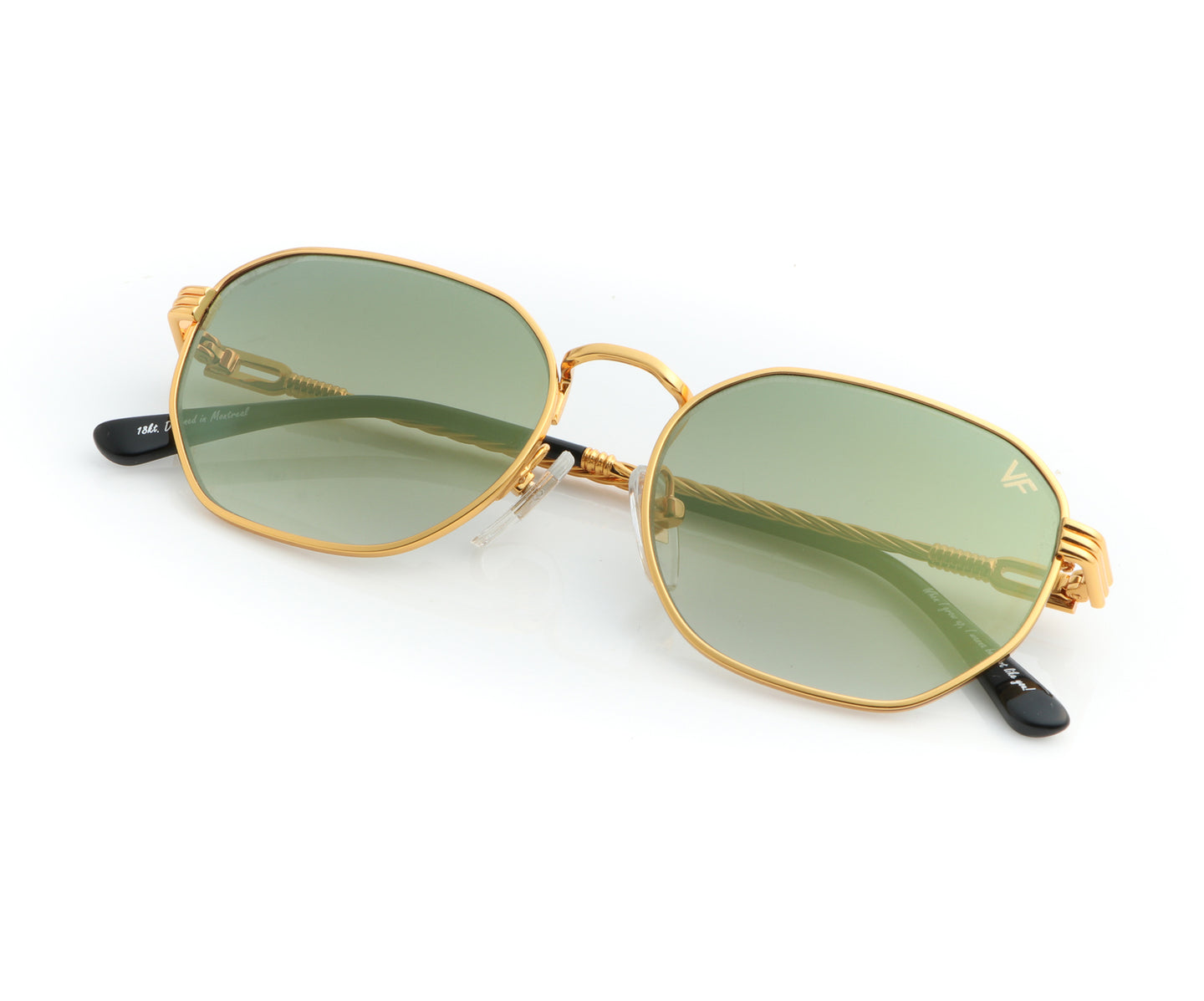 VF Kids Detroit Player 18KT Gold (Moss Green), VF Kids , glasses frames, eyeglasses online, eyeglass frames, mens glasses, womens glasses, buy glasses online, designer eyeglasses, vintage sunglasses, retro sunglasses, vintage glasses, sunglass, eyeglass, glasses, lens, vintage frames company, vf