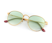 VF Miami Vice 18KT Gold (Money Green) Front,VF by Vintage Frames , glasses frames, eyeglasses online, eyeglass frames, mens glasses, womens glasses, buy glasses online, designer eyeglasses, vintage sunglasses, retro sunglasses, vintage glasses, sunglass, eyeglass, glasses, lens, vintage frames company, vf