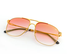 VF Kids Snatch 18KT Gold (Red Gradient), VF Kids, glasses frames, eyeglasses online, eyeglass frames, mens glasses, womens glasses, buy glasses online, designer eyeglasses, vintage sunglasses, retro sunglasses, vintage glasses, sunglass, eyeglass, glasses, lens, vintage frames company, vf