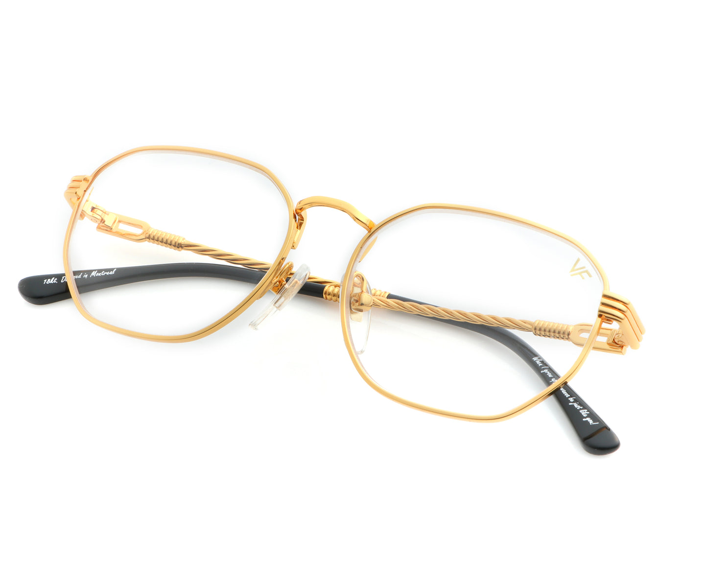VF Kids Detroit Player 18KT Gold (Clear), VF Kids , glasses frames, eyeglasses online, eyeglass frames, mens glasses, womens glasses, buy glasses online, designer eyeglasses, vintage sunglasses, retro sunglasses, vintage glasses, sunglass, eyeglass, glasses, lens, vintage frames company, vf