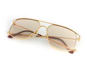 VF The Butcher 24KT Gold (Amber), VF Masterpiece, vintage frames, vintage frame, vintage sunglasses, vintage glasses, retro sunglasses, retro glasses, vintage glasses, vintage designer sunglasses, vintage design glasses, eyeglass frames, glasses frames, sunglass frames, sunglass, eyeglass, glasses, lens, jewelry, vintage frames company, vf