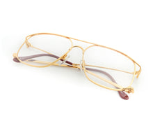 VF The Butcher 24KT Gold (Clear), VF Masterpiece, glasses frames, eyeglasses online, eyeglass frames, mens glasses, womens glasses, buy glasses online, designer eyeglasses, vintage sunglasses, retro sunglasses, vintage glasses, sunglass, eyeglass, glasses, lens, vintage frames company, vf